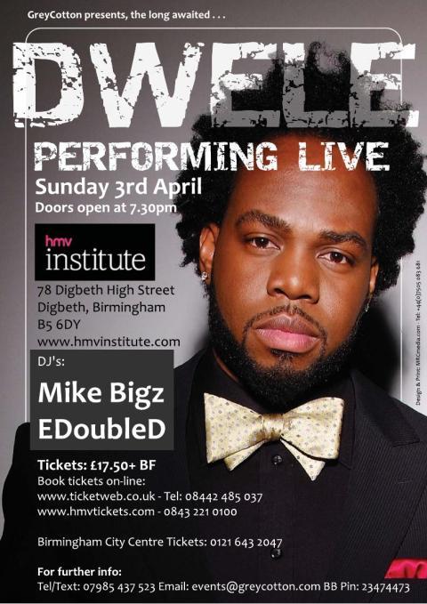Dwele Uk Tour Dates